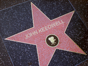 Picture-John keedwell walk of fame Hollywood
