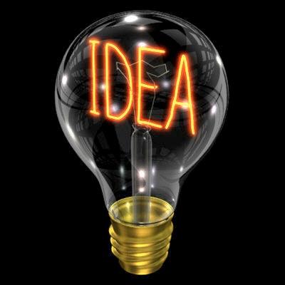 #speaktocamera Idea bulb