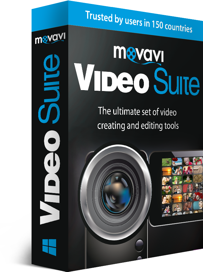 Movavi video software-box image